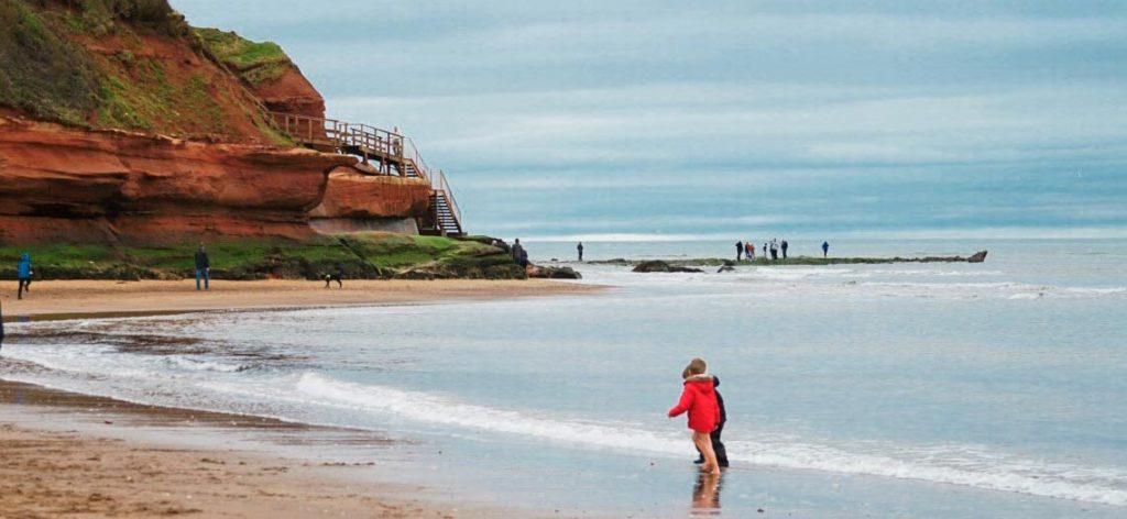 Beach at Exmouth